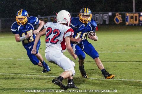 Clarksville Academy Football vs. McEwen