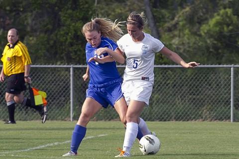 Clarksville Academy Soccer vs. Hume Fogg. (David Roach - Clarksville Sports Network)