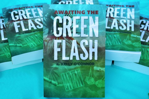Awaiting the Green Flash by Author K. Kelly O'Connor