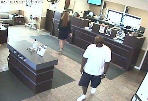 Clarksville Police are looking for the suspect in the photo for Attempted Robbery of Legends Bank at Dover Crossing.