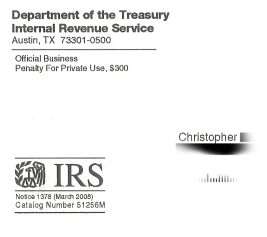 IRS Notices Strike Fear Into Citizens