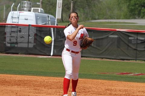 Austin Peay Softball's Kristin Whitmire.
