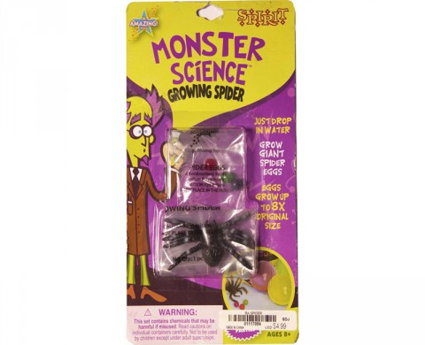 Monster Science Growing Spiders recalled by Be Amazing! Toys
