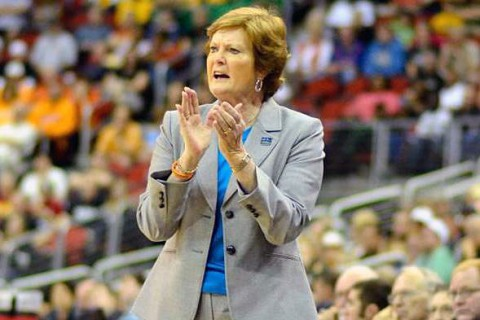 Pat Summitt, Legendary Tennessee Lady Vol basketball coach dies at age 64. (UT Sports Information)