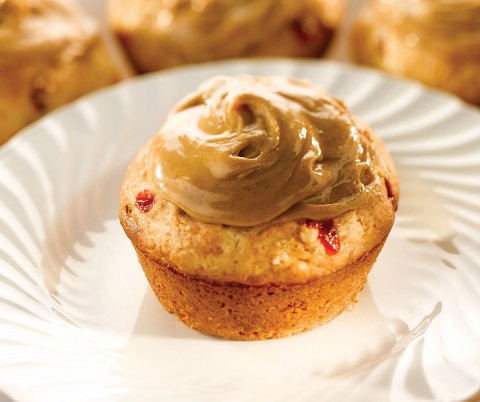 Quick and Easy PB & J Muffins