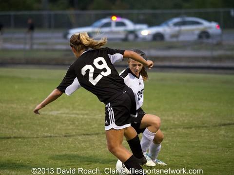 Rossview High School Lady Hawks Soccer vs. Kenwood High School Lady Knights