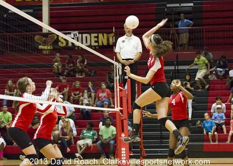 Rossview High School Lady Hawks Volleyball