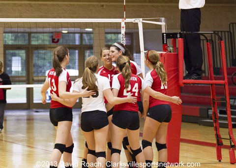 Rossview High School Lady Hawks Volleyball