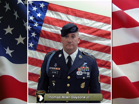 Staff Sgt. Thomas Allen Baysore Jr.