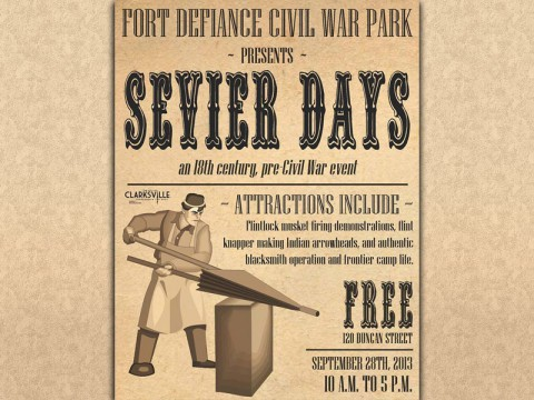 Sevier Days at Fort Defiance Interpretive Center September 28th.