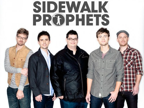 Sidewalk Prophets playing at Clarksville's Riverfest this Friday night.