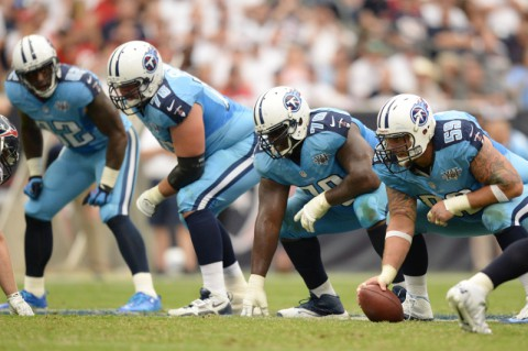 Tennessee Titans. (Thomas Campbell-USA TODAY Sports)