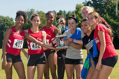 Austin Peay Women's Cross Country. (Jay Medeiros/JC Medeiros Photography)