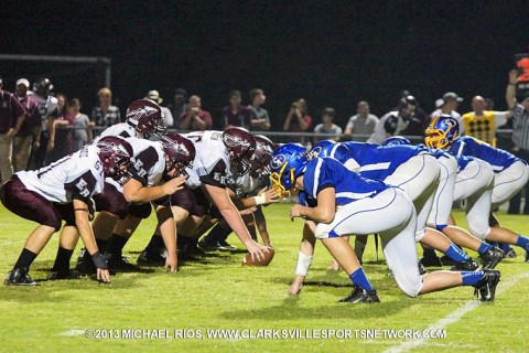 Clarksville Academy Football vs East Robertson.