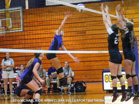Rossview High School vs Clarksville High School Volleyball