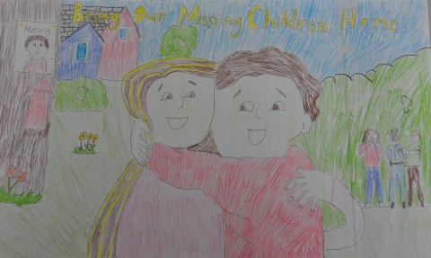 2014 National Missing Children's Day Poster contest