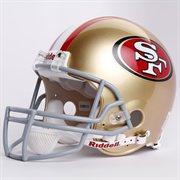 San Francisco 49ers helmet