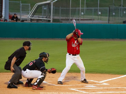 Austin Peay Baseball Red/White World Series. (David Roach-Clarksville Sports Network)