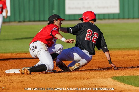APSU concludes Red-White World Series at Raymond C. Hand Park. (Michael Rios-Clarksville Sports Network)