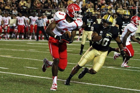 Austin Peay Football. (Brittney Sparn-APSU Sports Information)
