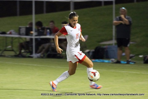 Austin Peay Women's Soccer looks to avenge a 2012 loss to Murray State and solidify their seeding in the OVC Tournament in Sunday's regular-season finale at Murray State's Cutchin Field.