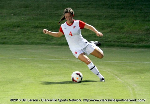 Austin Peay Women Soccer's Gina Fabbro.