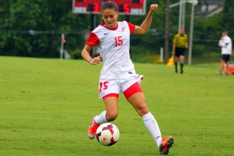 Former Austin Peay Soccer player Tatiana Ariza. (Michael Rios-Clarksville Sports Network)
