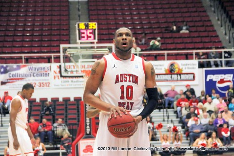 Austin Peay Governors Basketball picked third in OVC West.