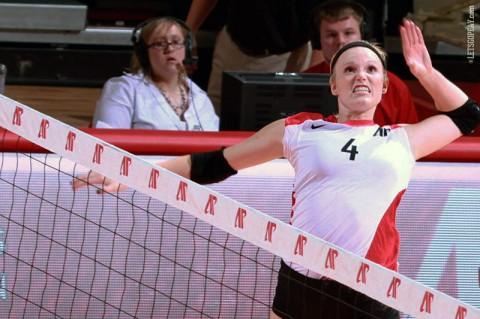 Austin Peay Women's Volleyball. (Brittney Sparn-APSU Sports Information)