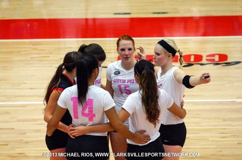 Austin Peay Women's Volleyball hosts Belmont Friday night.