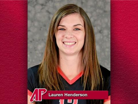 APSU's Lauren Henderson