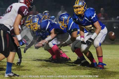 Clarksville Academy Football wins thriller over Cheatham County.