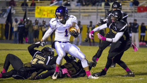 Clarksville High School Football vs. Kenwood High School. (David Roach-Clarksville Sports Network)
