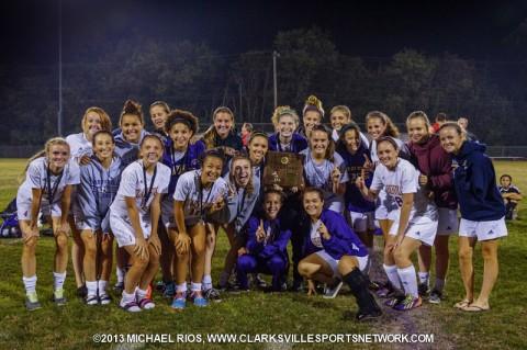 Clarksville High School wins District 10-AAA Soccer Title. (Michael Rios-Clarksville Sports Network)