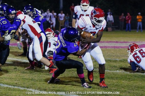 Clarksville High School Wildcats fall to Henry County.