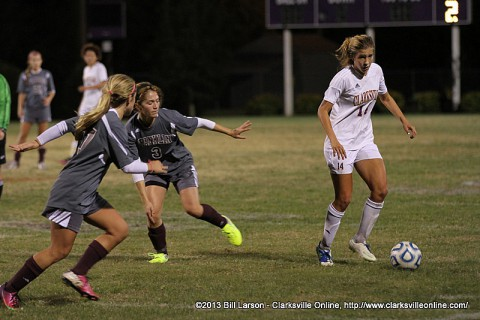 Clarksville High School Soccer loses to Franklin.