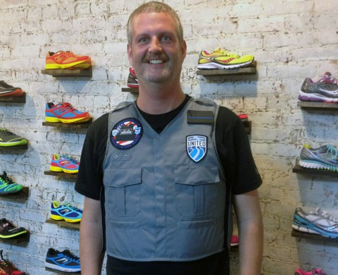 Montgomery County Sheriff Investigator Jeff Morlock will run in Go Commando to raise Awareness to Gun Violence.