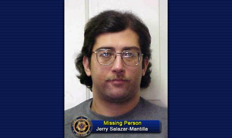Missing Person Jerry Michael Salazar-Mantilla