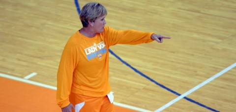 UT Lady Vol Coach Holly Warlick. (UT Sports Information)