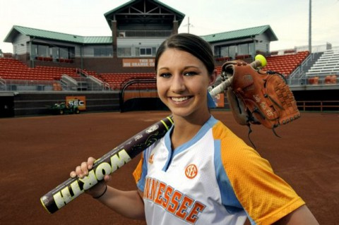 Lauren Gibson Lady Vol Softball-Team USA