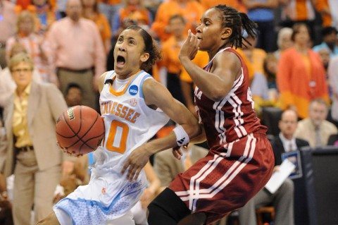Meighan Simmons Tennessee Lady Vols. ( Mark D. Smith-USA TODAY Sports)