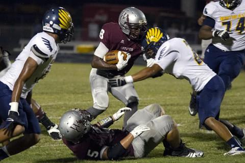 Northeast High School Football vs West Creek High School. (David Roach-Clarksville Sports Network)