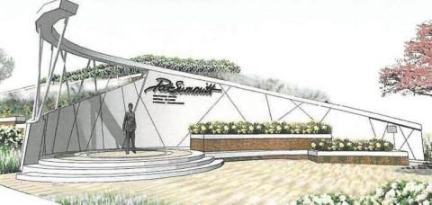 Artist rendering of Pat Summitt Plaza University of Tennessee.