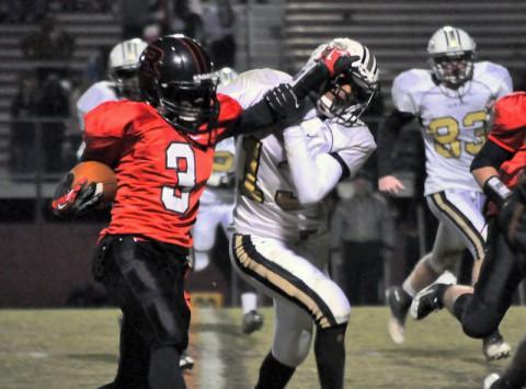 Rossview High School Football runs all over Springfield. (Suzie Liberatore-Clarksville Sports Network)