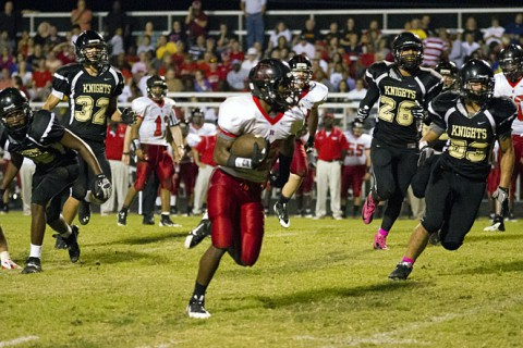 Rossview High School outlasts Kenwood in High School Football 52-44. (David Roach-Clarksville Sports Network)