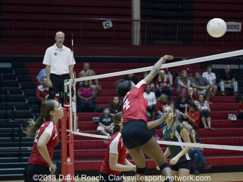 Rossview Volleyball defeats Northwest High 3-0 in District 10-AAA Tournament.