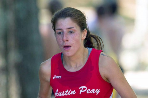 Austin Peay Lady Govs Cross Country's Xiamar Richards. (Jay Medeiros/JC Medeiros Photography)