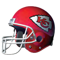 Kansas City Chiefs Helmet