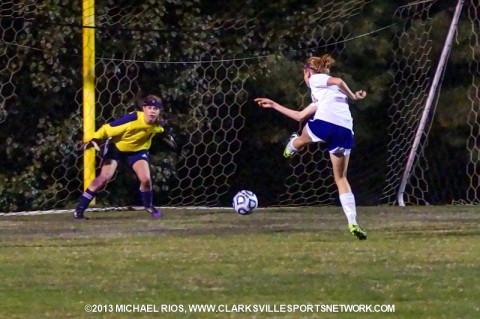 Clarksville High School defeats Beech in Regional Soccer Match.