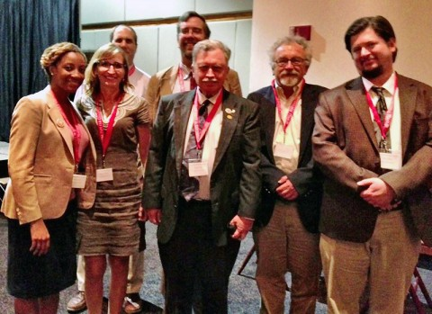 Austin Peay State University history faculty members participate in the Ohio Valley History Conference.